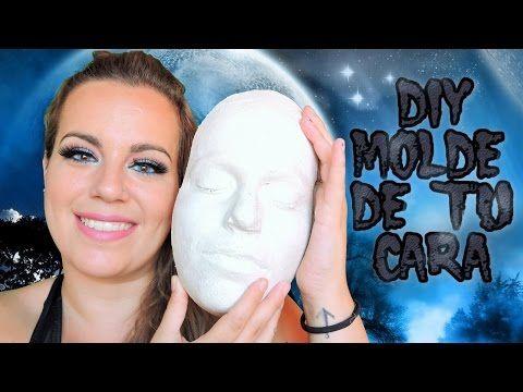 Como Hacer un Molde de tu Cara Para Efectos Especiales. Básico 1# Diy Molde de tu Cara en Yeso - YouTube
