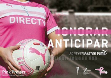 CD Universidad Católica 2014 PUMA Project Pink Jersey