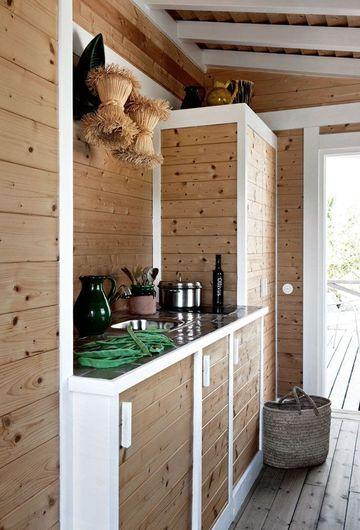 Grange ComportaDe Lambris, Slat Cabinetry Wond, White Details, Cuisine Tapissé, Habitually Chic, Grange Comporta, 360 530 Pixel, Wood Slat, Kitchen