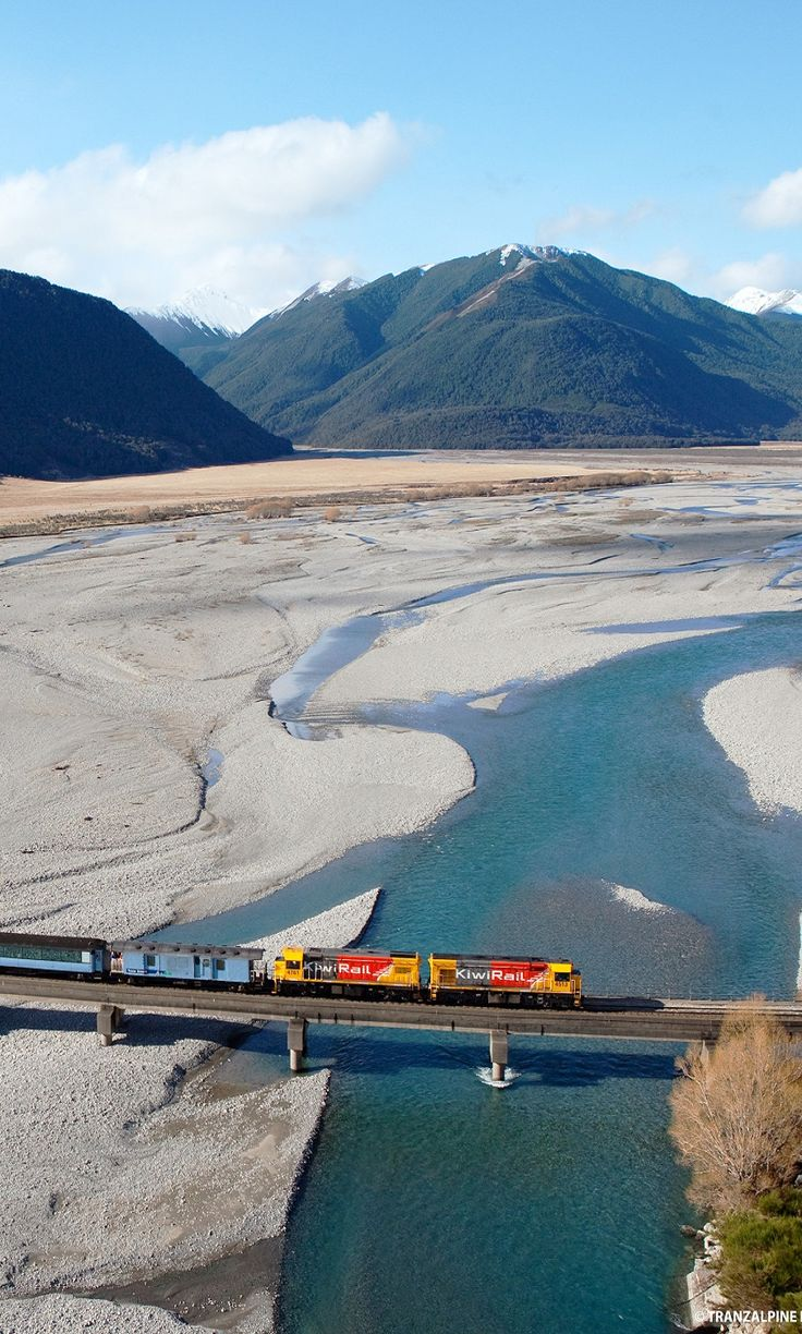 Going coast to coast with the TranzAlpine (Christchurch to Greymouth), South Island, New Zealand