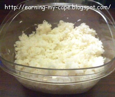 How to cook rice in the microwave.  Super easy, and it turns out perfect every time! :-)