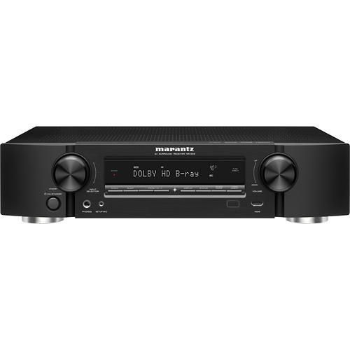 Marantz Slimline 250W 5.1Ch. 3D Pass Through AV Home Theater Receiver NR1403 - Best Buy