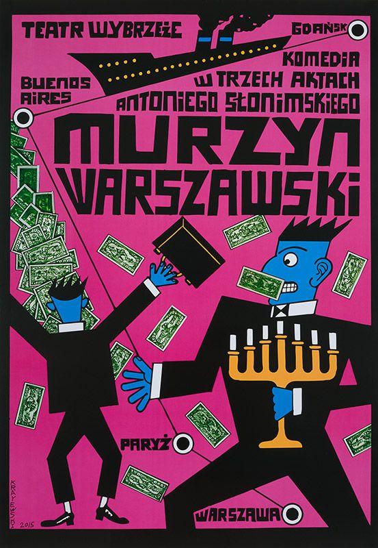 Krajewski Andrzej, Murzyn Warszawski, 2015
