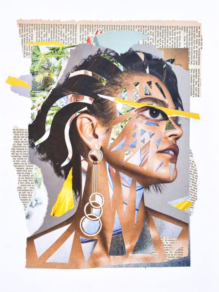 Veerle Symoens Collage Exhibition