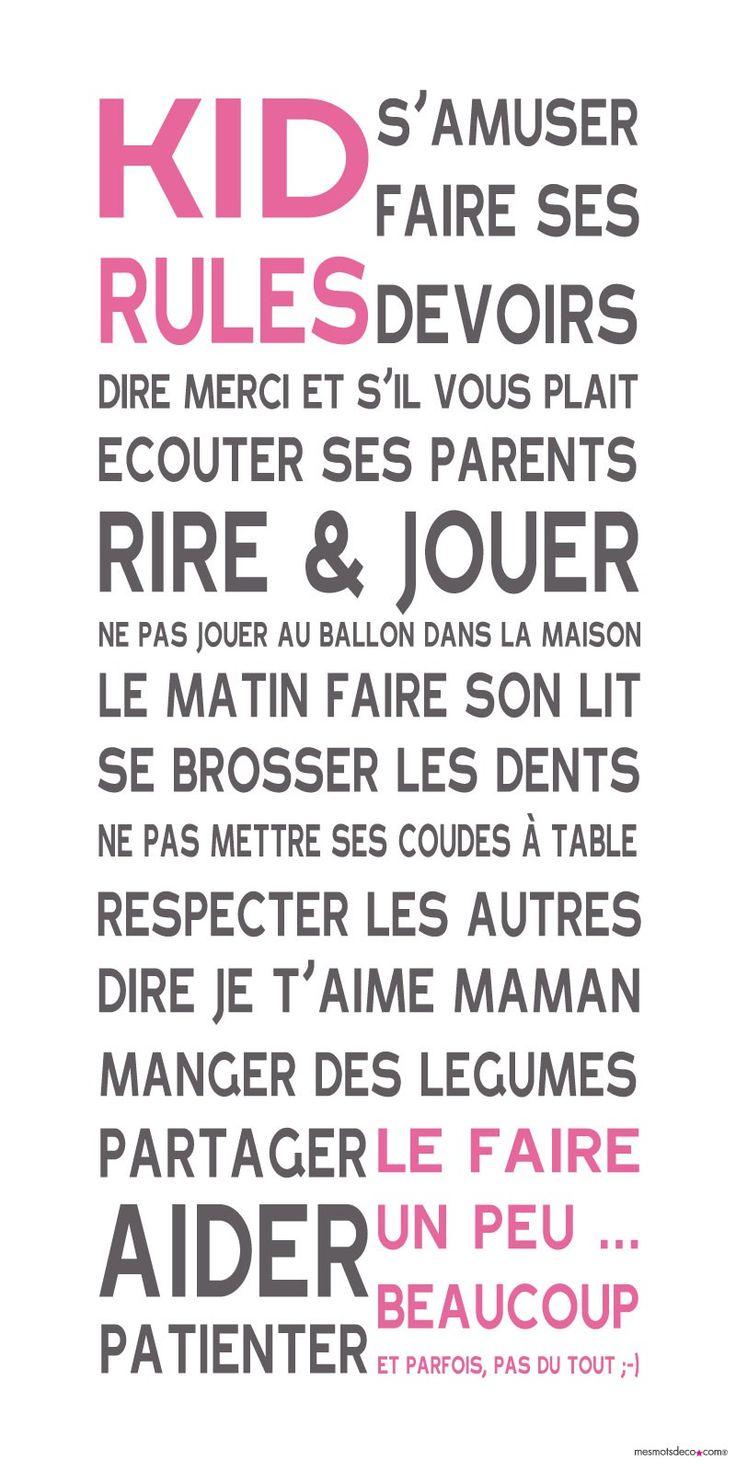 Affiche adhésive - Sticker géant - Poster autocollant - Déco enfant
