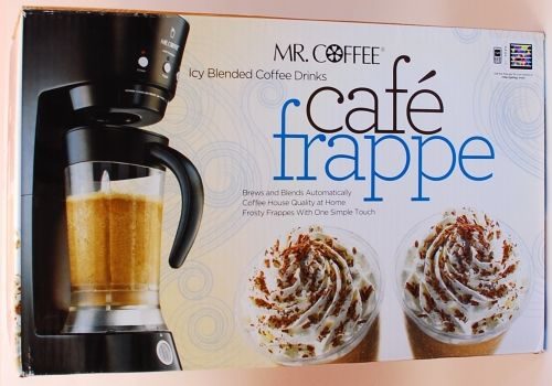 Make Your Own Frappe At Home  (Great for diabetics,low-fat diets, Or just Convenience ) WORKS AS ADVERTISED!!!! Links to a Great Article