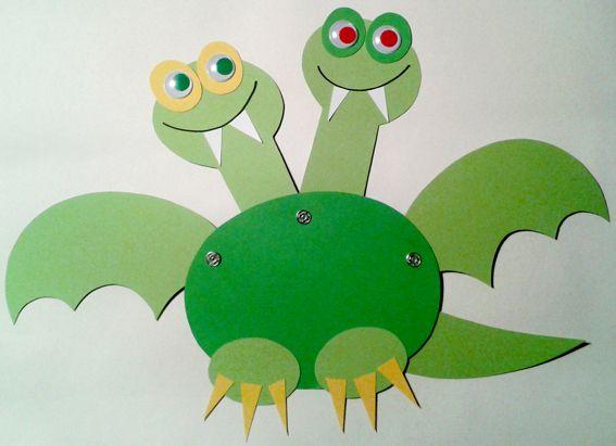 drak papírák (barevné papíry, patentky, očička)