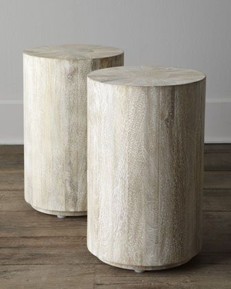 """""""Driftwood""""+Side+Table+at+Horchow."""