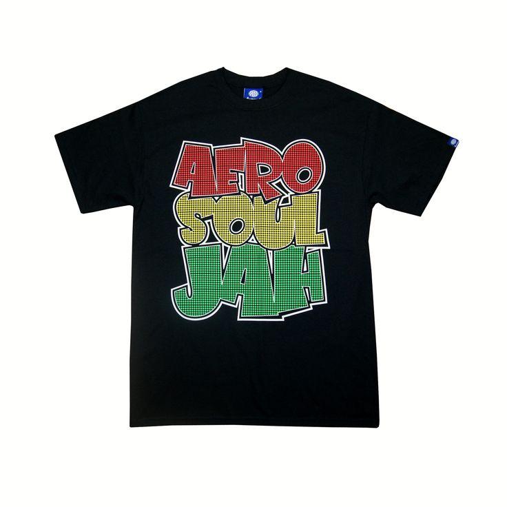 Souljah Graffi-Tee T-Shirt (Black)