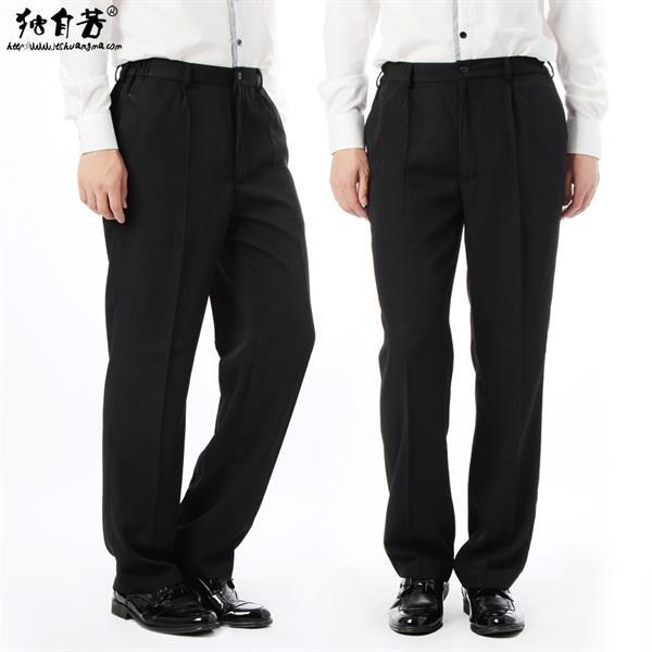 Черные брюки рабочие