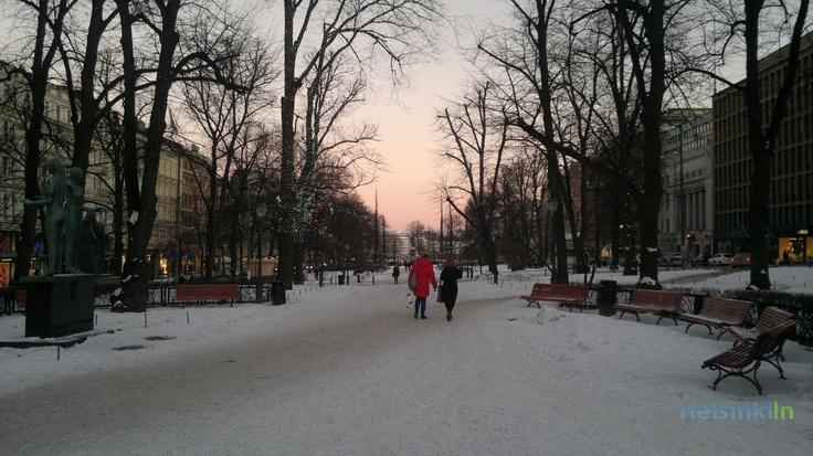 Esplanadi in January 2013