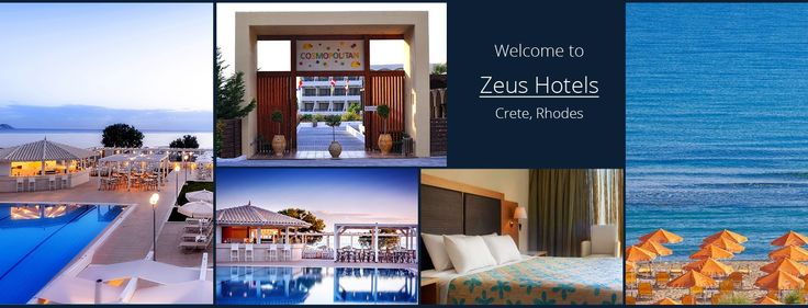Zeus Hotels in Greece: crete accommodation, hotels rhodes, hotels crete