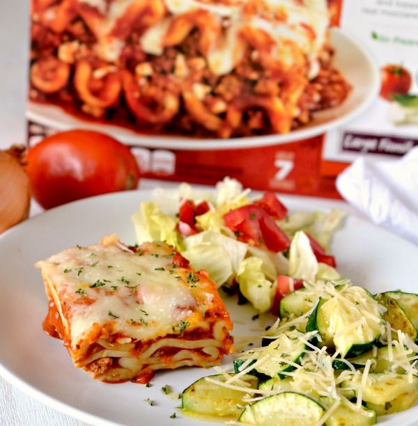 Side Dishes for Lasagna! Easy Parmesan Zucchini recipe #STOUFFERSGOODNESS