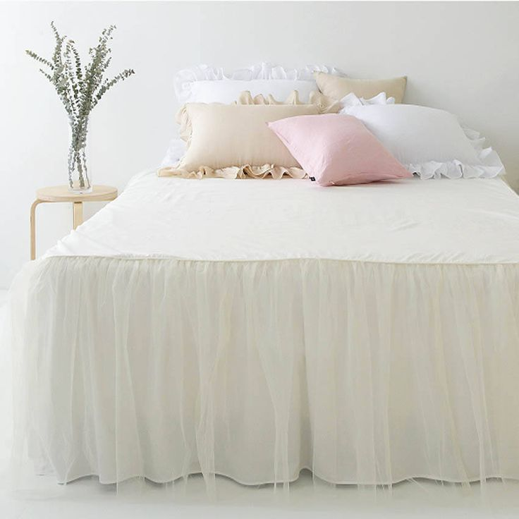 Excited to share the latest addition to my #etsy shop: Ivory Bedskirt with Tutu Bedskirt Ivory Sheer Draped Bedskirt Cotton Bedspread Ruffled Bedspread Cotton Bedding http://etsy.me/2BM9RVU #housewares #bedroom #bedding #housewarming #solid #adult #yes #king #polyester