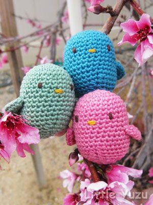 Easter Amigurumi: from free pattern here: http://www.lionbrand.com/patterns/80015AD.html?noImages=