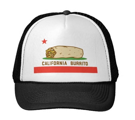 CAlifornia Burrito hat