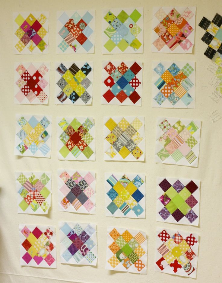 how to make a quilt square