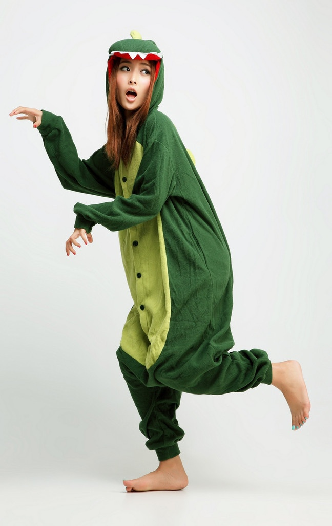 Dinosaur Animal Adult Kigurumi Onesie 恐龍  http://kigukawaii.com/collections/best-seller/products/dinosaur-animal-kigurumi-onesie    you guise don't know how much ive been wanting one... ;__; I want a chicken one theyre soo cute I just I creys