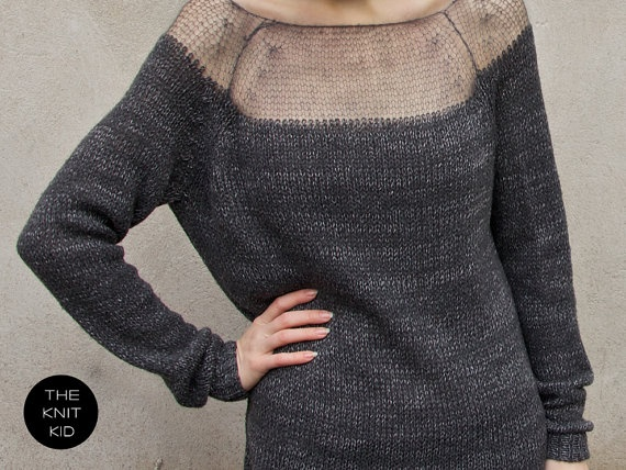 mohair sweater by theknitkid