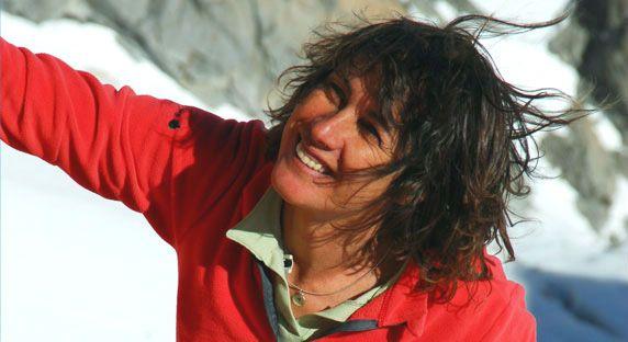 L'interview de Catherine Destivelle, championne d'escalade