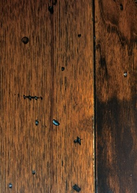 Hickory Ole Brown Distressed Hardwood Flooring