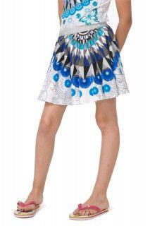 Desigual modro-bílá dívčí sukně Ramio - 699 Kč