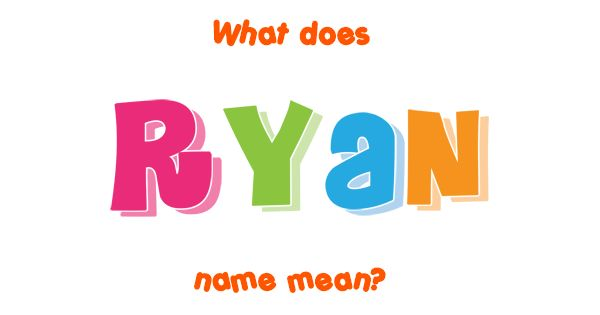 """Ryan name meaning. The meaning, origin, popularity and detailed name information of Ryan. From an Irish surname which was derived from Ó Riain meaning """"descende..."""