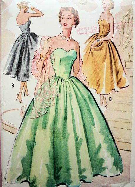 1000  images about McCall Evening Dress Patterns on Pinterest ...