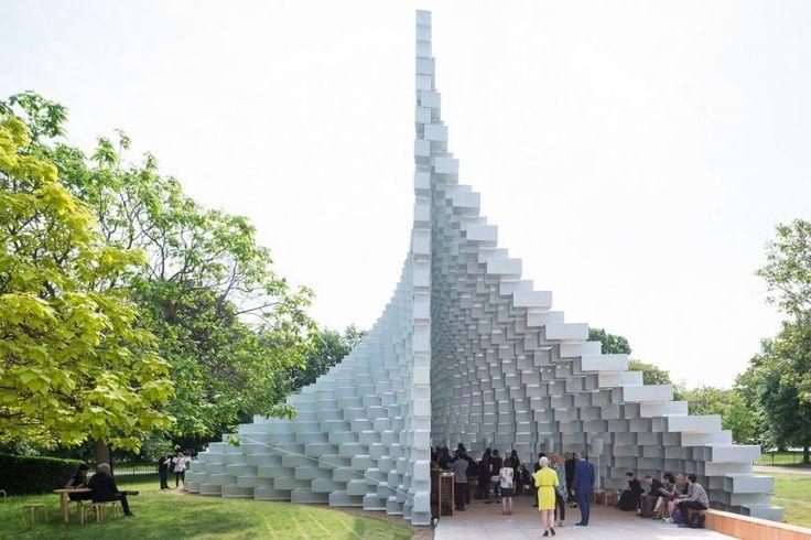 Serpentine Pavilion 2016 designed by Bjarke Ingels Group (BIG); (10 June – 9 October)