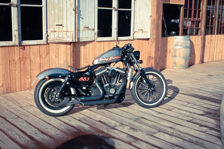 Custom Built: Eric Venien's HD Iron 883! – OTOMOTIF.ORG