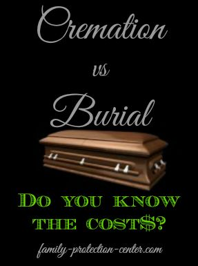 Do You Know What Cremation And Burial Services Cost? Could Your Family  Afford It If