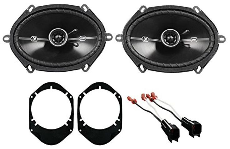 """2001-2005 Ford Explorer Sport Trac Kicker 6x8"""" Front Speaker Replacement Kit - Brought to you by Avarsha.com"""