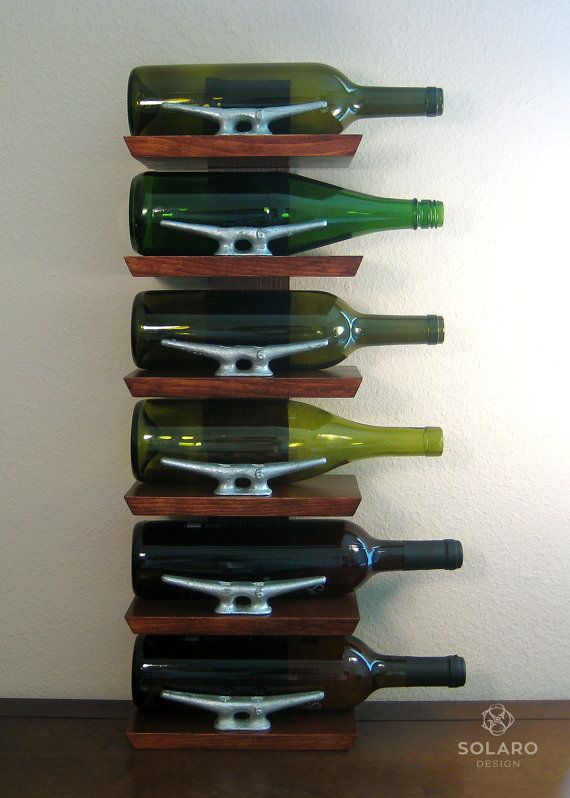Hey, I found this really awesome Etsy listing at https://www.etsy.com/listing/234617470/nautical-wine-rack-6-bottles