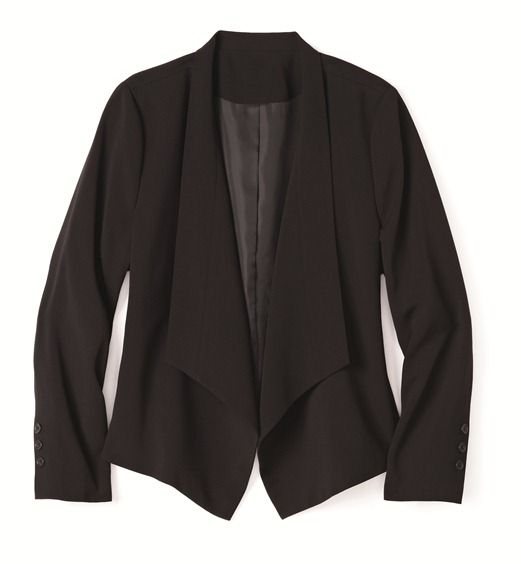 A must-have piece! / LA pièce passe-partout! Plus size classic jacket #Reitmans957
