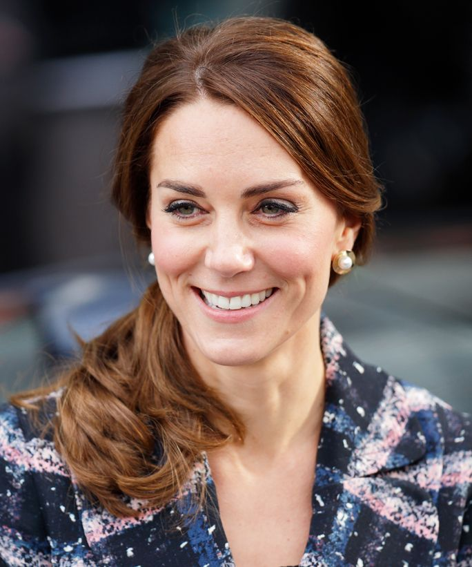 Mom Kate Middleton shared details about the young royals' athletic interests at a Buckingham Palace event on Tuesday.
