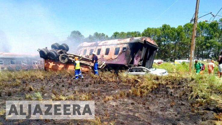 #latestnews#worldnews#news#currentnews#breakingnewsSouth Africa: Train crash kills 18 hundreds injured