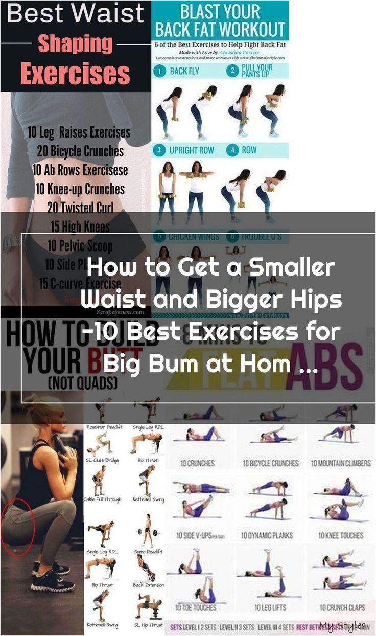 How to get a smaller waist best 10 exercises for smaller