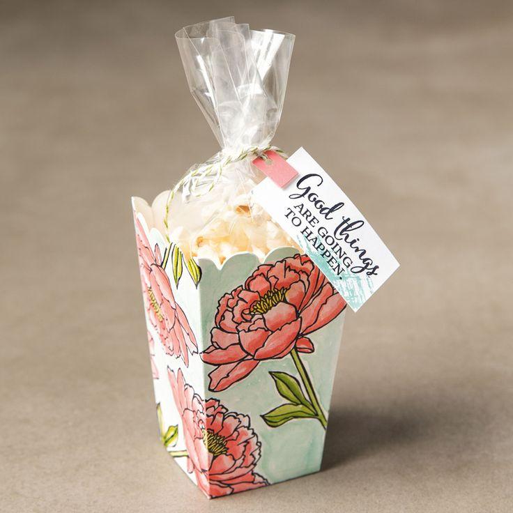 Popcorn Box Thinlits Dies by Stampin' Up!