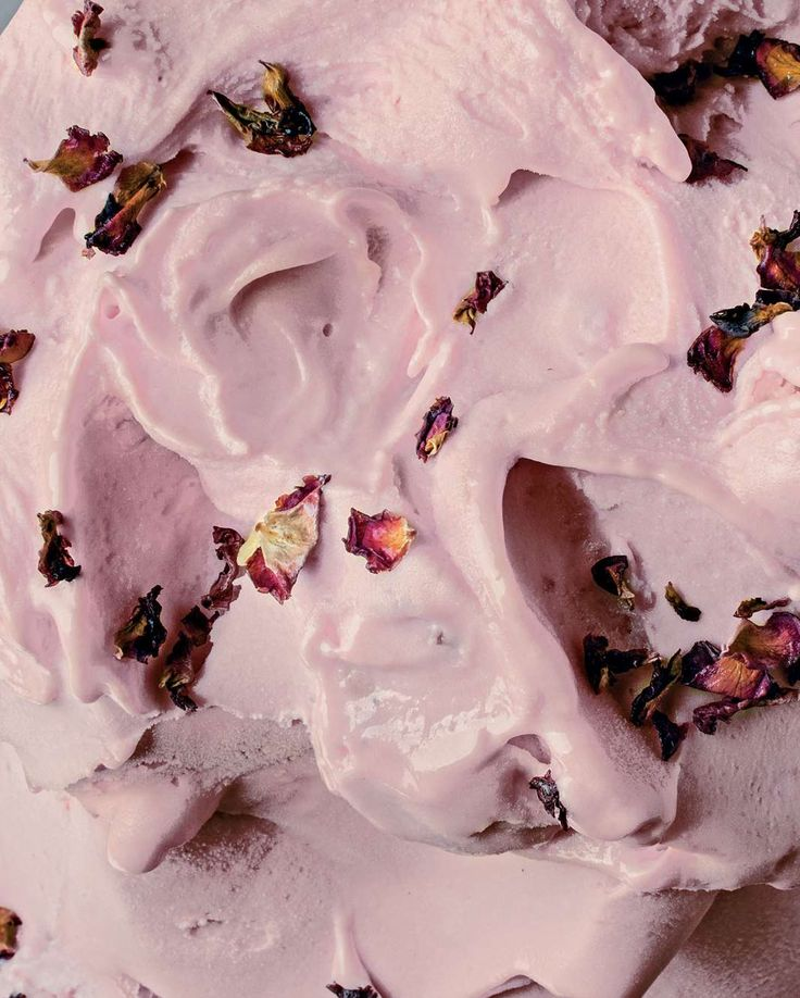Peach & rose petal sorbet by Nick Palumbo from Gelato Messina | Cooked