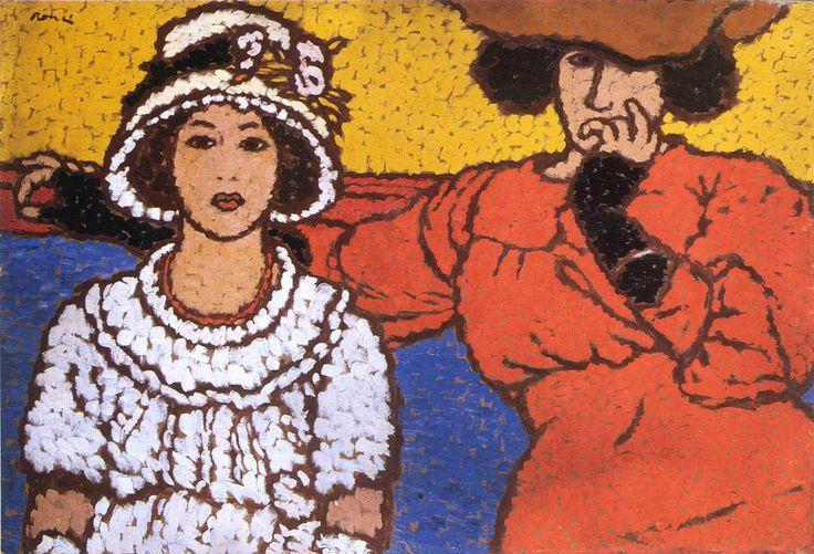 József Rippl-Rónai - Lazarine and Anella 1911