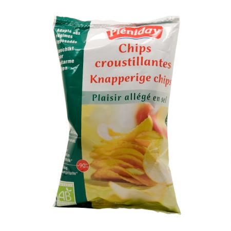 chips Pléniday sans sel 100g