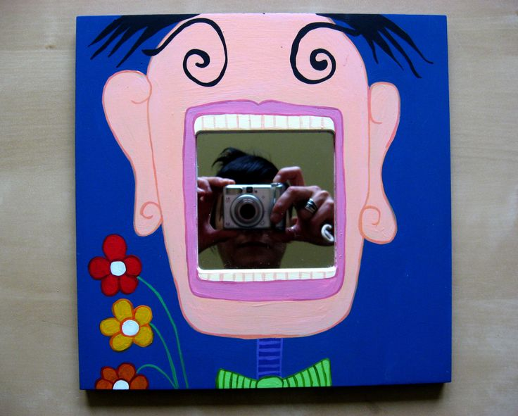 Decorative unique hand painted mirror frames