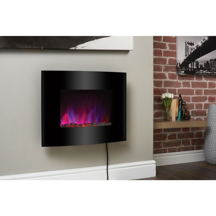 Pacific Wall-mounted Electric Fire Suite