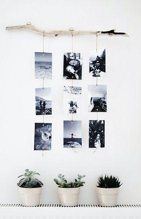 Misschien met een rechte boomstam/dikke tak, minder typisch? // Black & White photos