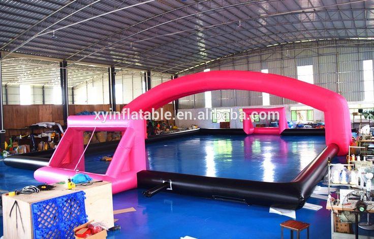 inflatable hockey field