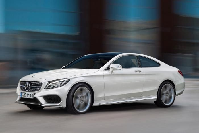 Mercedes C-Class 2014 coupe side