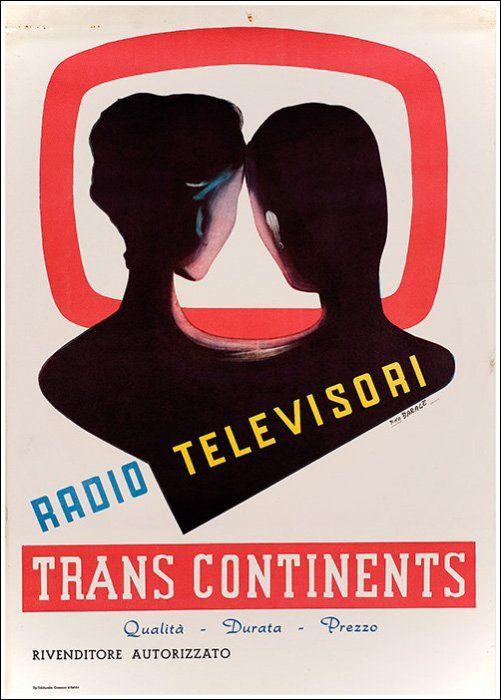 Trans-Continents - Radio, televisori - 1960's - (Barale) -