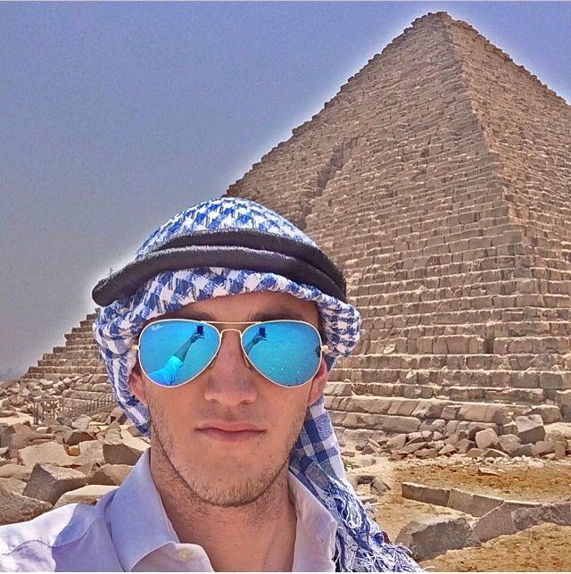 Hiram Mier, arabian style! #HiramMier