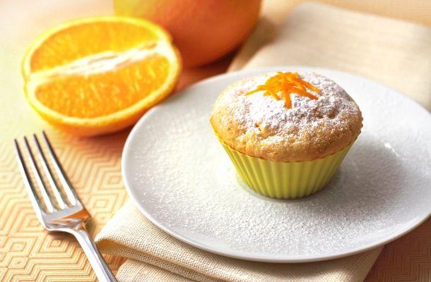 A túró a naranccsal fantasztikus. Erre bizonyíték ez a muffin is.