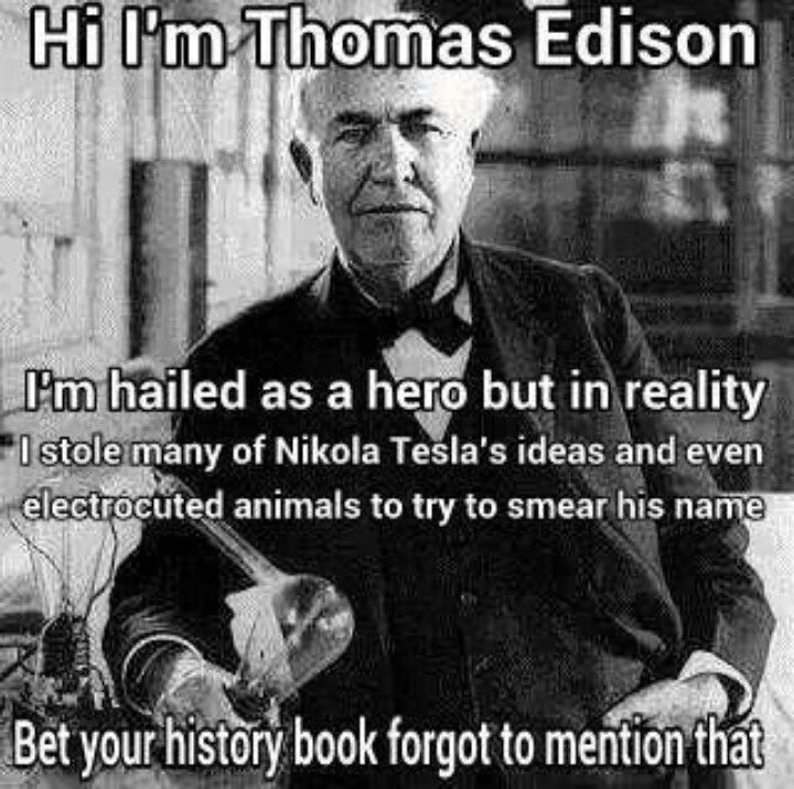 Yep.  This is one I did know about.  Tesla was a genius.